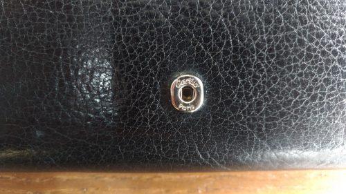 財布のホック部