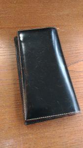 財布の染色